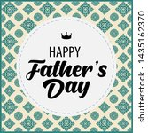 happy father day vintage gift... | Shutterstock .eps vector #1435162370