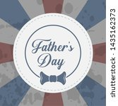 happy father day vintage gift... | Shutterstock .eps vector #1435162373