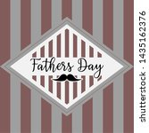 happy father day vintage gift... | Shutterstock .eps vector #1435162376