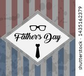 happy father day vintage gift... | Shutterstock .eps vector #1435162379