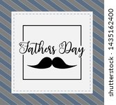 happy father day vintage gift... | Shutterstock .eps vector #1435162400