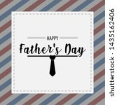 happy father day vintage gift... | Shutterstock .eps vector #1435162406
