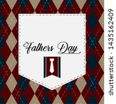 happy father day vintage gift... | Shutterstock .eps vector #1435162409