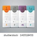 3d background infographics.   Shutterstock .eps vector #143518453