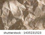 crumpled paper texture ....   Shutterstock . vector #1435231523