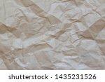 crumpled paper texture ....   Shutterstock . vector #1435231526