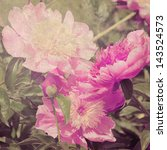 Art Floral Vintage Blurred...