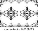 seamless wallpaper pattern | Shutterstock .eps vector #143528029