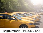 Photo Of Several Yellow Taxi O...