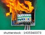 Damaged Circuit Breaker Became...