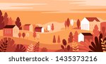 vector illustration in simple... | Shutterstock .eps vector #1435373216