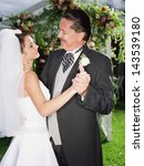 bride dancing with her father | Shutterstock . vector #143539180