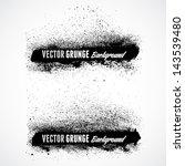 grunge banner backgrounds in...   Shutterstock .eps vector #143539480