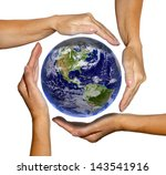 The World In Hands  Earth...