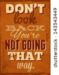 vintage typography vector... | Shutterstock .eps vector #143543449