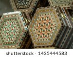 Wood Inlay Box Spanish Arabic...