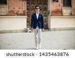 Young Elegant Businessman...