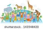 animal protection | Shutterstock . vector #143548420