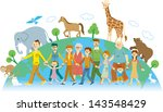 animal protection | Shutterstock . vector #143548429