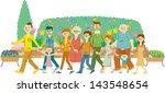 gardening | Shutterstock . vector #143548654