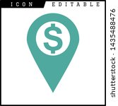 money icon isolated sign symbol ... | Shutterstock .eps vector #1435488476