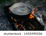 Bonfire Nature Cooking Food And ...