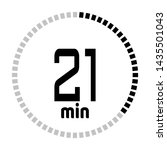 the 21 minutes countdown timer...