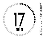 the 17 minutes countdown timer...