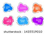vector graphic liquid style... | Shutterstock .eps vector #1435519010