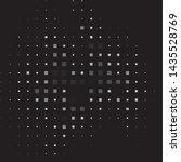 vintage halftone monochrome... | Shutterstock .eps vector #1435528769