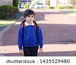 portrait of child with bored...   Shutterstock . vector #1435529480