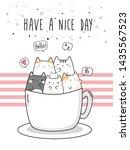 Cute Adorable Cat Kitten In...