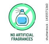 no artificial fragrances line...