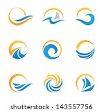 fire symbol and icon | Shutterstock .eps vector #143557756