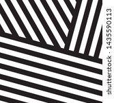black and white intersecting... | Shutterstock .eps vector #1435590113