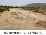 View Of Dry River In India ...