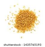 close up heap of yellow... | Shutterstock . vector #1435765193