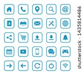 web icon set. website set icon...