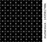 design seamless monochrome... | Shutterstock .eps vector #1435817486