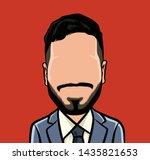 caricature of portraits ...   Shutterstock .eps vector #1435821653