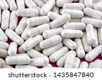 close up photo of many white... | Shutterstock . vector #1435847840