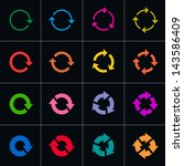 16 arrow pictogram refresh...