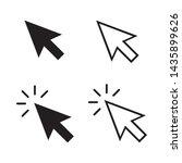cursor mouse pointer icon...   Shutterstock .eps vector #1435899626