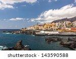 porto santiago  tenerife ... | Shutterstock . vector #143590588