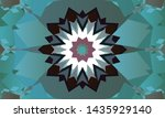 geometric design  mosaic of a... | Shutterstock .eps vector #1435929140