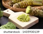 Japanese Wasabi Grated With...