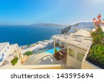 Greece Famous Santorini Island...