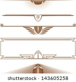 half football banners | Shutterstock .eps vector #143605258