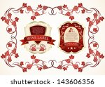 wine label | Shutterstock .eps vector #143606356