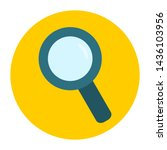 magnifying glass  search icon... | Shutterstock .eps vector #1436103956